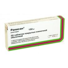 Ранисан таблетки 150 мг, 20 шт.
