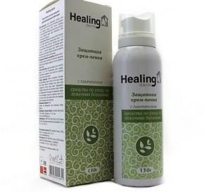 Крем-пенка Healing Derm для тела защитная для лежачих больных, 130 г