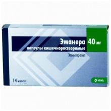 Эманера капсулы 40 мг, 14 шт.
