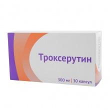 Троксерутин капсулы 300 мг, 30 шт.