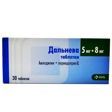 Дальнева таблетки 5 мг+8 мг, 30 шт.