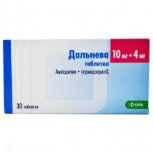 Дальнева таблетки 10 мг+4 мг, 30 шт.