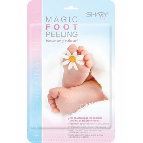 "Носки SHARY д/домашнего педикюра ""Magic Foot Peeling"""