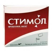 Стимол раствор для приема внутрь 100 мг/мл 10 мл пакетики, 18 шт.