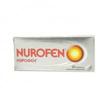 Нурофен таблетки 200 мг, 20 шт.