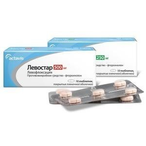 Левостар таблетки 500 мг, 10 шт.