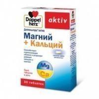 Доппельгерц Актив магний+кальций ДЕПО таблетки, 30 шт.