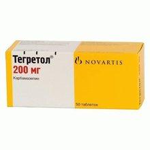 Тегретол таблетки 200 мг, 50 шт.
