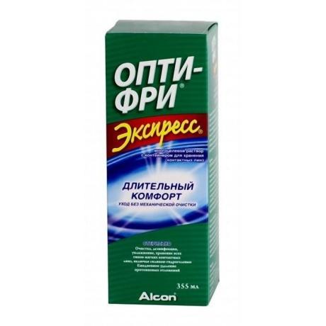 Раствор для контактных линз OPTI-FREE Express, 355 мл