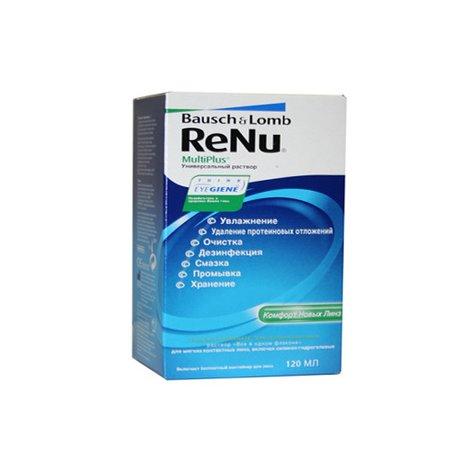 Раствор для контактных линз RENU 120мл