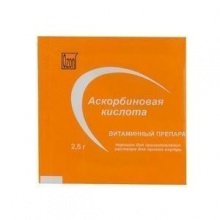 Аскорбиновая кислота порошок 2,5 г
