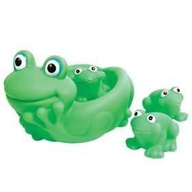 """Игрушка ПОМА """"Ребятки-лягушатки"""" набор для ванны, 4 т. (арт. 2819)"""