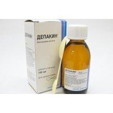 Депакин флакон (сироп) 50 мкг/мл 150 мл