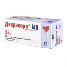 Депренорм МВ таблетки с мод. высвоб. 35 мг, 60 шт.