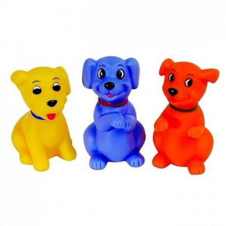 """Игрушка ПОМА """"Веселые щенки"""" для ванны, 3 шт. (арт. 4219)"""