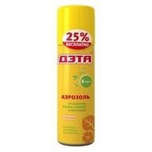 ДЭТА-аэрозоль от комаров аэразоль, 125 мл