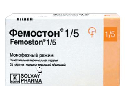 Фемостон 1/5 таблетки, 28 шт.