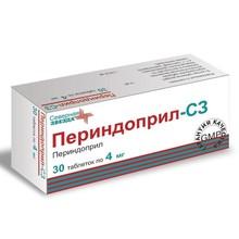 Периндоприл-СЗ таблетки 4 мг, 30 шт.