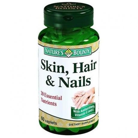 Американские витамины для волос ногтей и кожи