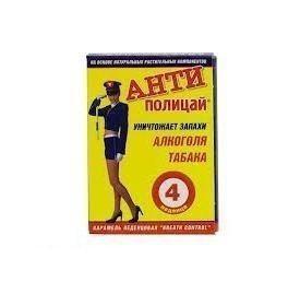 Антиполицай таблетки, 4 шт. без сахара