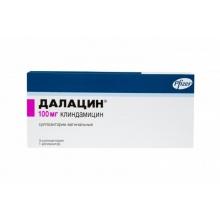 Далацин свечи вагинальные 100 мг, 3 шт. + аппликатор