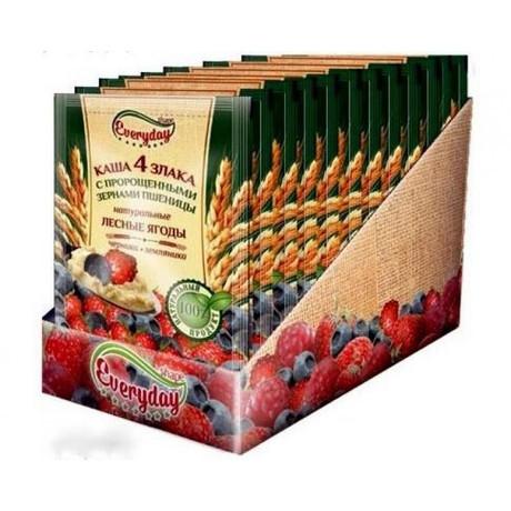 Каша ВИТА АКТИВ овсяная лесные ягоды с комплексом Омега-3 43 г,  5 шт.