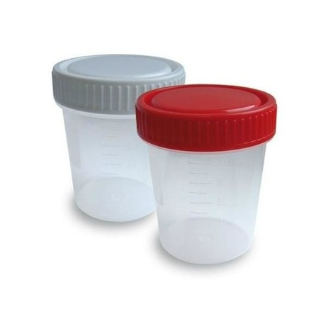 Контейнер для биологических образцов стерильный, 60 мл с лопаткой