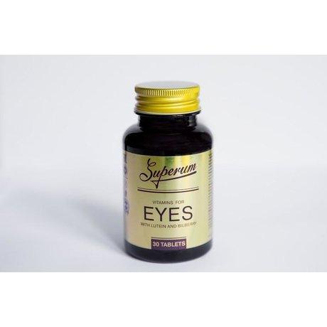 Superum Витамин для глаз Лютеин и Черника таблеток, 30 шт.