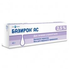 Базирон АС гель 2,5%, 40 г