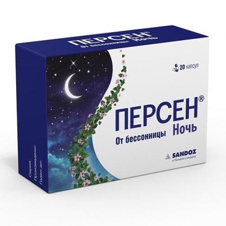 Персен Ночной капсулы, 20 шт.