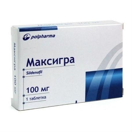 Максигра таблетки 100 мг, 1 шт.
