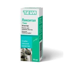 Лаксигал-Тева капли для приема внутрь 7,5 мг/мл 10 мл