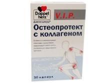 Доппельгерц VIP Остеопротект с коллагеном капсулы, 30 шт.