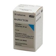 Фарестон таблетки 20 мг, 30 шт.