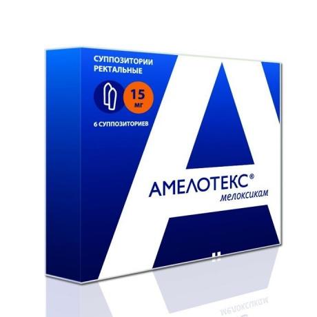 Амелотекс суппозитории ректальные 15мг, 6шт