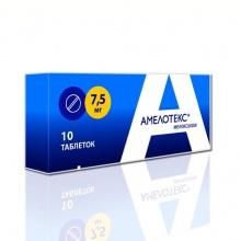 Амелотекс суппозитории ректальные 7,5мг, 6шт