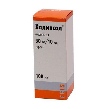Халиксол флакон (сироп) 30мг/10мл 100 мл