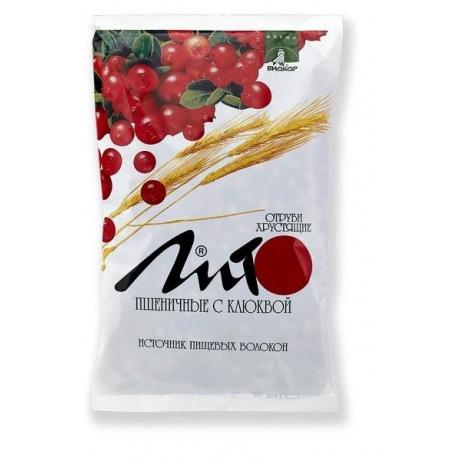 Отруби пшеничные с клюквой пакетики, 200 г