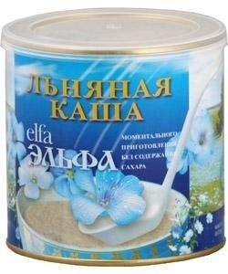 Каша ЭЛЬФА льняная моментального приготовления 400 г