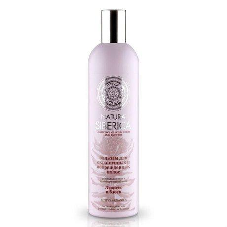 Natura Siberica бальзам для волос Защита и блеск для окрашенных и поврежденных волос 500мл