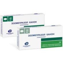 Эзомепразол Канон таблетки 40 мг, 14 шт.