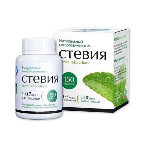 Худеем за неделю БиоСлимика СТЕВИЯ таблетки, 150 шт.