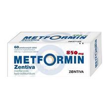 Метформин Зентива таблетки 850 мг,  60 шт.