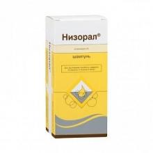 Низорал шампунь 20 мг/г, 120 мл