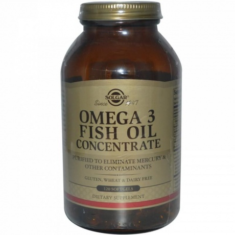 Солгар концентрат рыбьего жира Омега-3 капсулы, 60 шт.