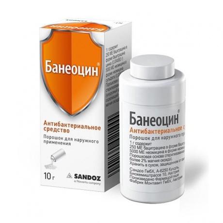 Банеоцин порошок , 10 г