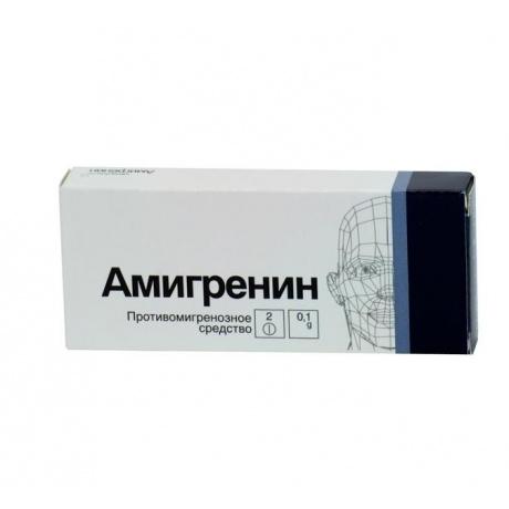 Амигренин таблетки 50мг, 6шт