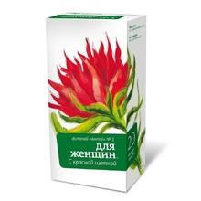 Чайный напиток АЛТАЙ №1 д/женщин с красной щеткой фильтр-пакеты 2г, 20 шт.