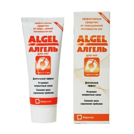 Алгель дезодорант-антиперсперант для ног 75 мл