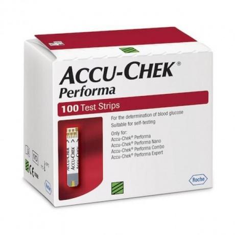 Тест-полоска Accu-Chek Performa №100